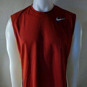 Nike Sleeveless red shirt